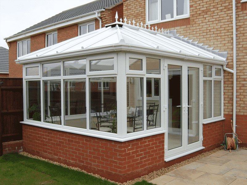 Mid terraced house conservatory pictures
